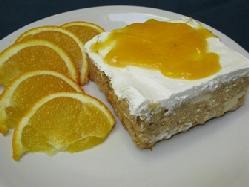 Budin de Naranja Postres dieteticos